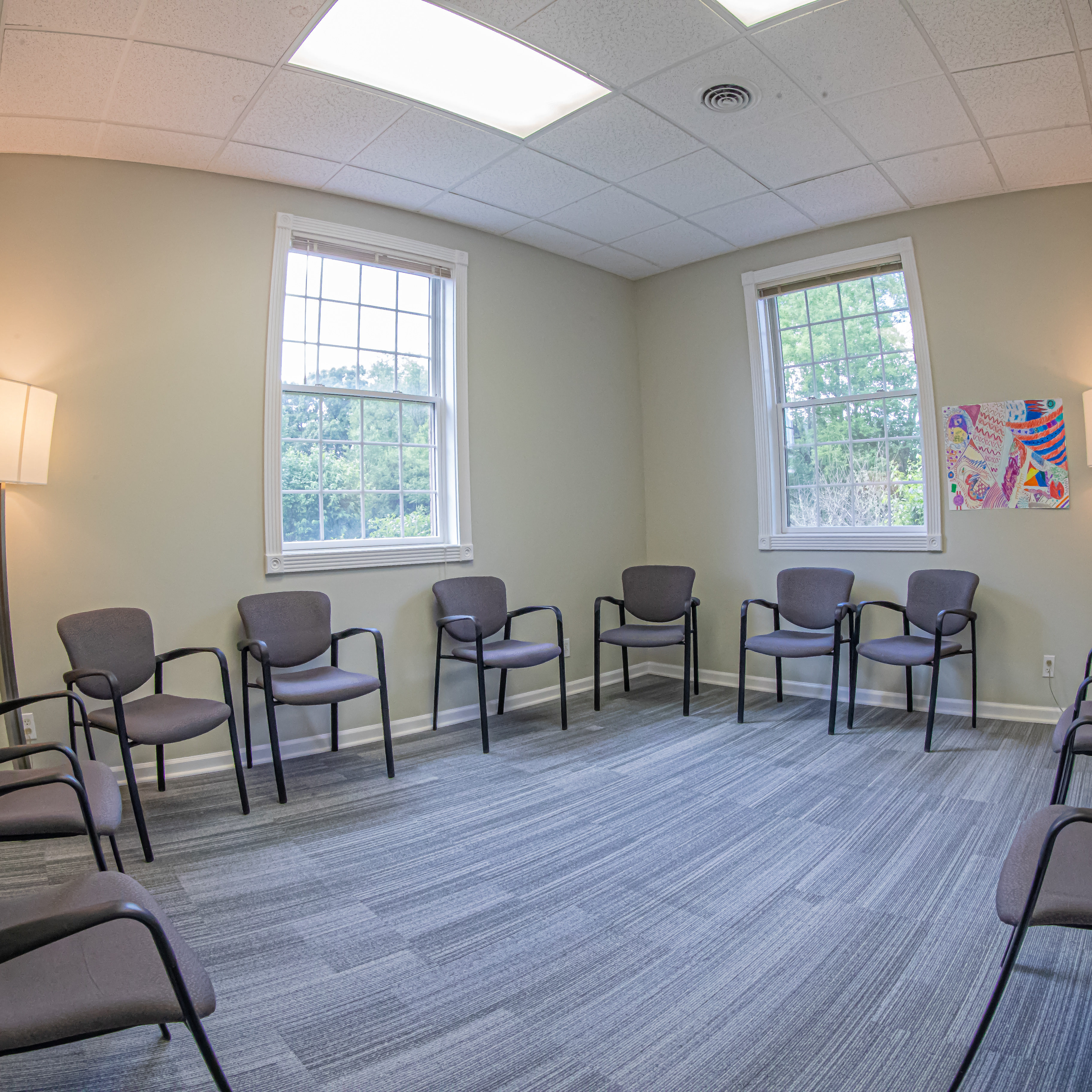 Northern illinois recovery facility therapy room
