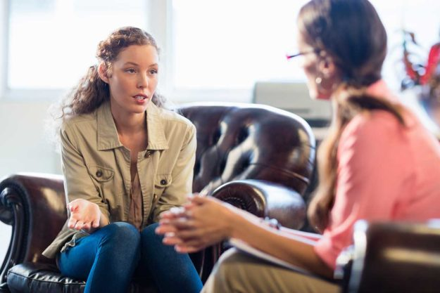 a woman is able to get the most from her addiction counseling