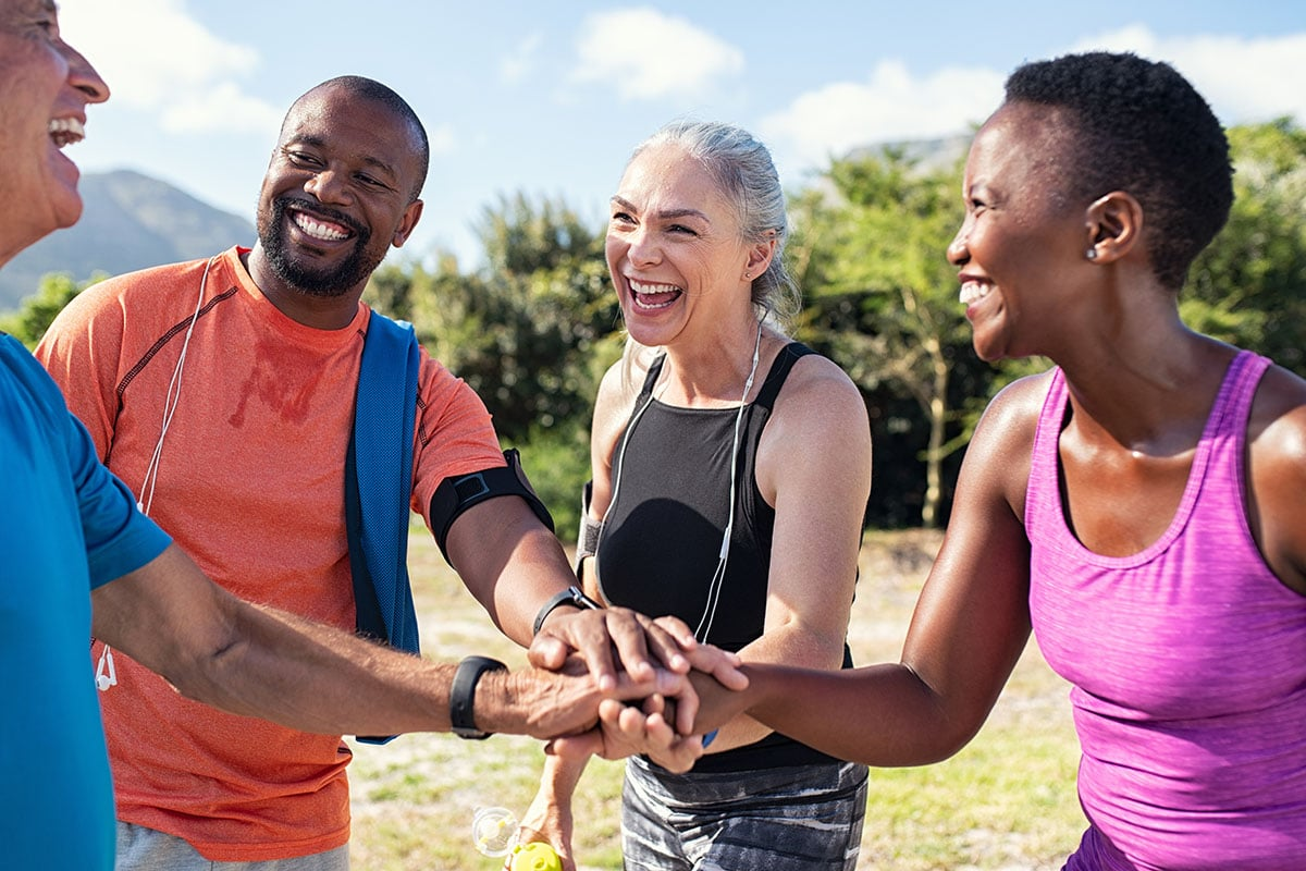 people showing can exercise help addiction recovery