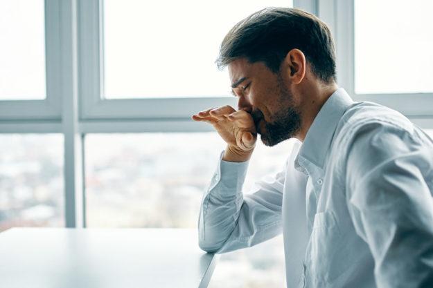 pensive man wondering do I need dual diagnosis treatment